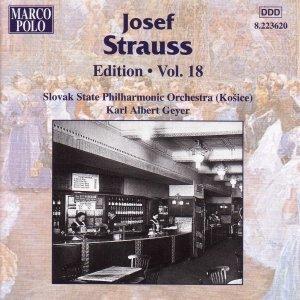 STRAUSS, Josef: Edition - Vol. 18