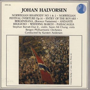 Norwegian Rhapsody No 1 & 2 / Norwegian Festival Overture Op. 16 / Entry Of The Boyars / Bergensiana, (Rococco Variations) / Andante Religioso / Wedding March / Passacaglia