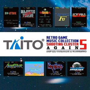 TAITO RETRO GAME MUSIC COLLECTION 5 SHOOTING CLUSTER AGAIN