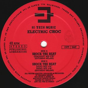 Album artwork for Shock The Beat by Electric Choc