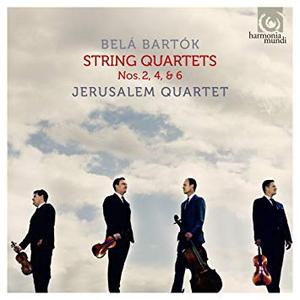Belá Bartók: String Quartets Nos. 2, 4, & 6