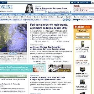 Avatar for Folha Online