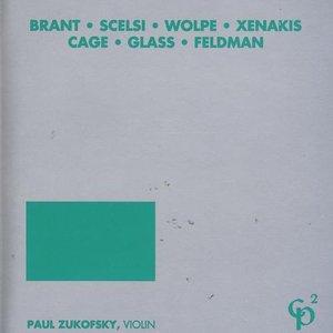brant • scelsi • wolpe • xenakis • cage • glass • feldman