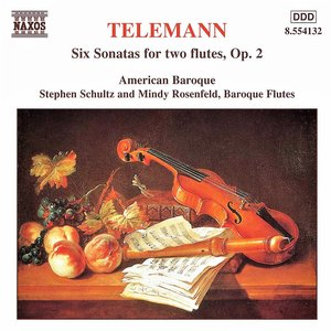 TELEMANN: 6 Sonatas for Two Flutes without Bass