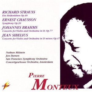 R. Strauss, Chausson, Brahms, Sibelius: Pierre Monteux Conducts