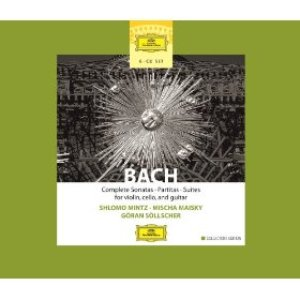 Bach: Complete Sonatas, Partitas & Suties for Violin, Cello & Guitar