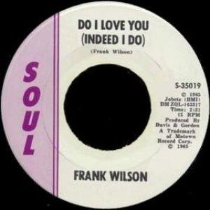 Do I Love You (Indeed I Do)