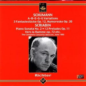 Sviatoslav Richter Plays Schumann and Scriabin