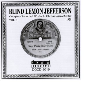 Blind Lemon Jefferson Vol. 3 1928