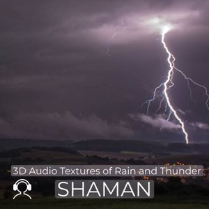 3D Audio Textures of Rain and Thunder