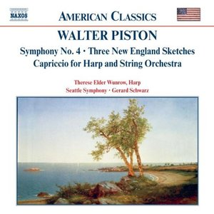 PISTON: Symphony No. 4 / Three New England Sketches