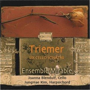 Triemer: Six Cello Sonatas