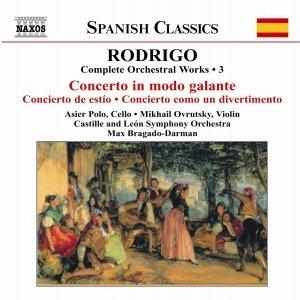 Immagine per 'RODRIGO: Concierto in Modo Galante / Concierto de Estio'