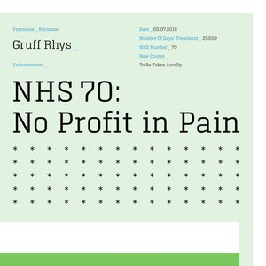 No Profit in Pain