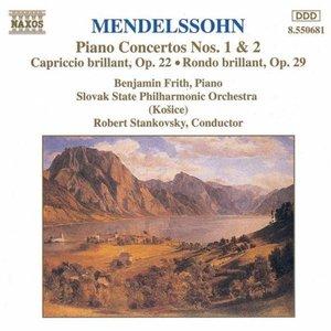 MENDELSSOHN: Piano Concertos Nos. 1 and 2 / Capriccio Brillant / Rondo Brillant
