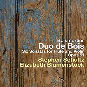 Six Sonatas for Flute and Violin - Opus 51 - Boismortier
