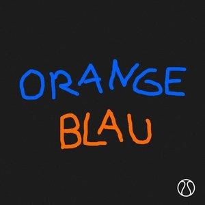 Orange Blau