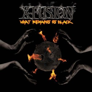 What remains is black