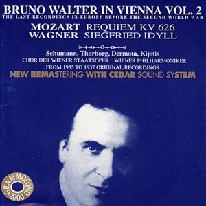 Bruno Walter in Vienna Vol. 2 - The Last Recordings in Europe Before the Second World War