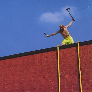 Lucky You're Not up on the Roof Today