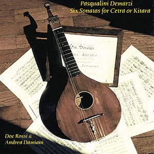 Demarzi-6 Sonatas for Cetra o Kitara