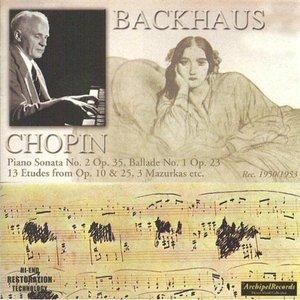 Frédéric Chopin : Piano Sonata No. 2 Op.35, Ballade No. 1 Op. 23, 13 Etudes from Op.10 & 25, 3 Mazurkas