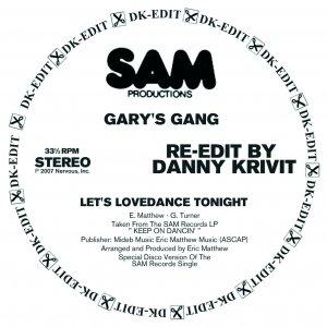 Let's Lovedance Tonight - Danny Krivit Re-Edit