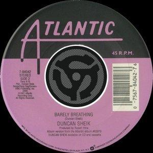 Barely Breathing / Wishful Thinking [Digital 45]