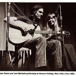 Image for 'Joni Mitchell & James Taylor'