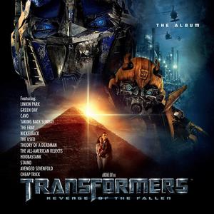 Transformers: Revenge of the Fallen The Album Album Artwork