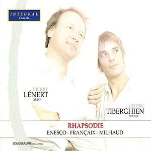 Enesco, Françaix & Milhaud - Works for Alto & Piano