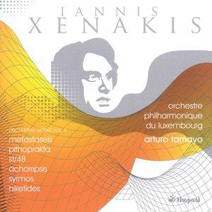 Xenakis, I.: Orchestral Works, Vol. 5 - Metastaseis / Pithoprakta / St/48 / Achorripsis / Syrmos / Hiketides Suite