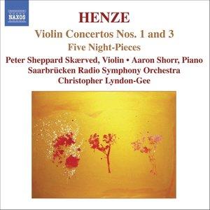 HENZE: Violin Concertos Nos. 1 and 3