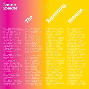 Laurie Spiegel: The Expanding Universe