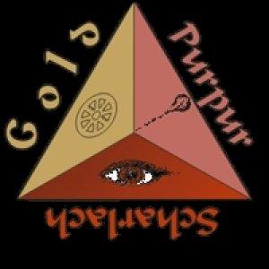 Gold Purpur Scharlach