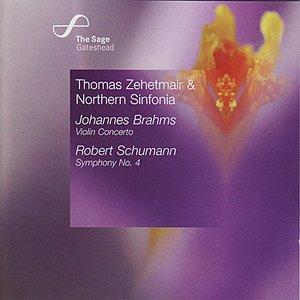 Brahms: Violin Concerto / Schumann: Symphony No. 4