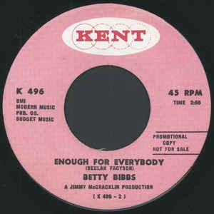 Enough For Everybody