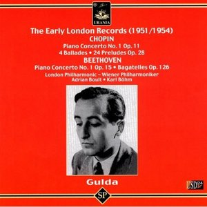 The Early London Records - 1951/1954 - Chopin, Beethoven