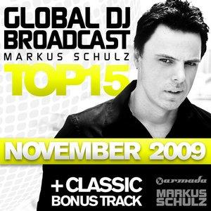 Global DJ Broadcast Top 15 - November 2009