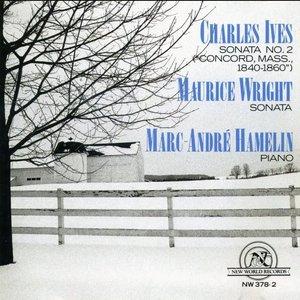 "Charles: Ives: ""Concord"" Sonata/Maurice Wright: Sonata"