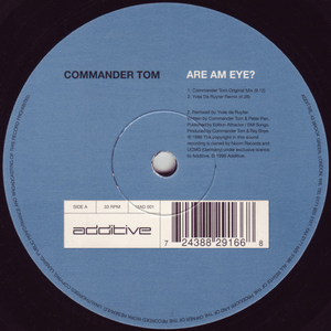 Commander Tom - Are Am Eye? (Binary Finary Remix)