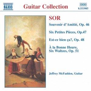 SOR: Souvenir d'Amitie / 6 Petites Pieces, Op. 47