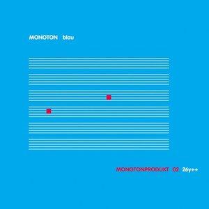 Blau - Monotonprodukt 02 26y++