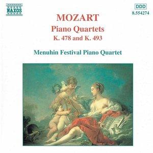 MOZART: Piano Quartets, K. 478 and K. 493