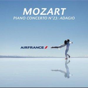 Mozart: Piano Concerto No. 23 in A, K. 488: II. Adagio (Air France TV Ad) - Single