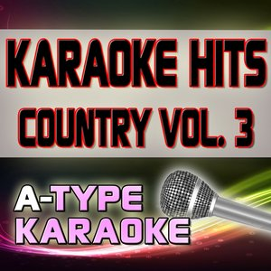 A-Type Karaoke Country Hits, Vol. 3 (Karaoke Version)