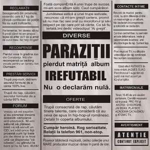 trupa parazitii componenta)
