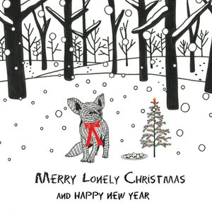 Merry Lonely Christmas And Happy New Year