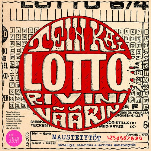 Tein kai lottorivini väärin