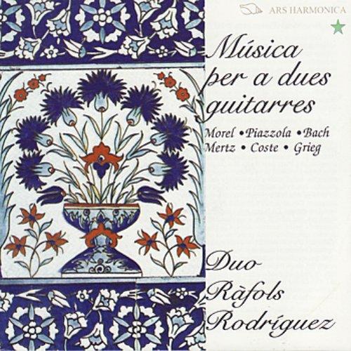 Música per a dues guitarres - Morel, Piazzolla, Bach, Mertz, Coste, Grieg